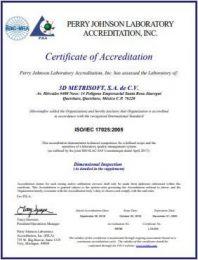 certificacion 3d metrisoft